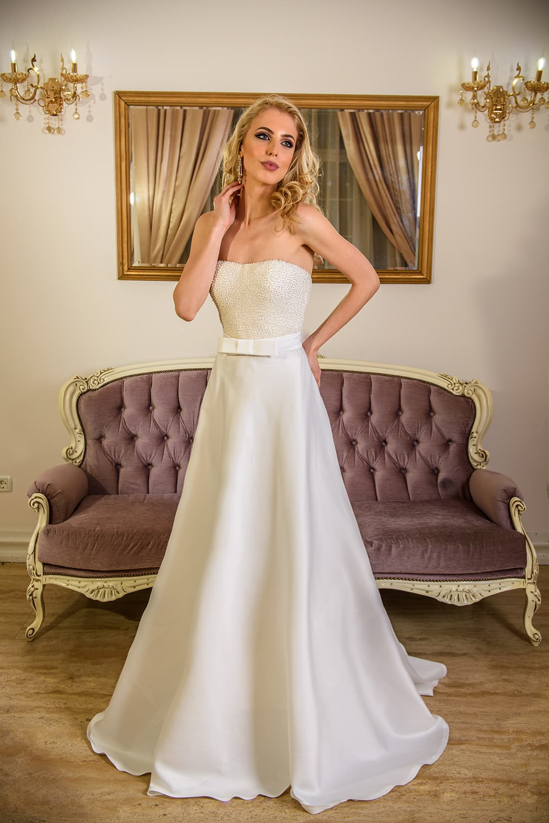 Nicolette Model - Colectia Baroque - Adora Sposa