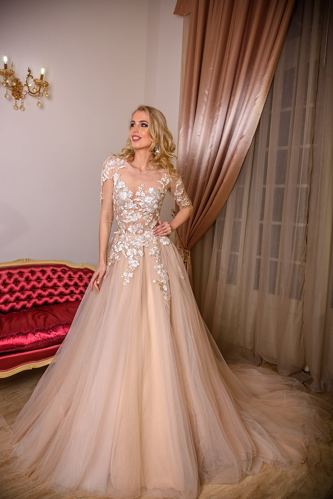 Nisa Model - Colectia Baroque - Adora Sposa