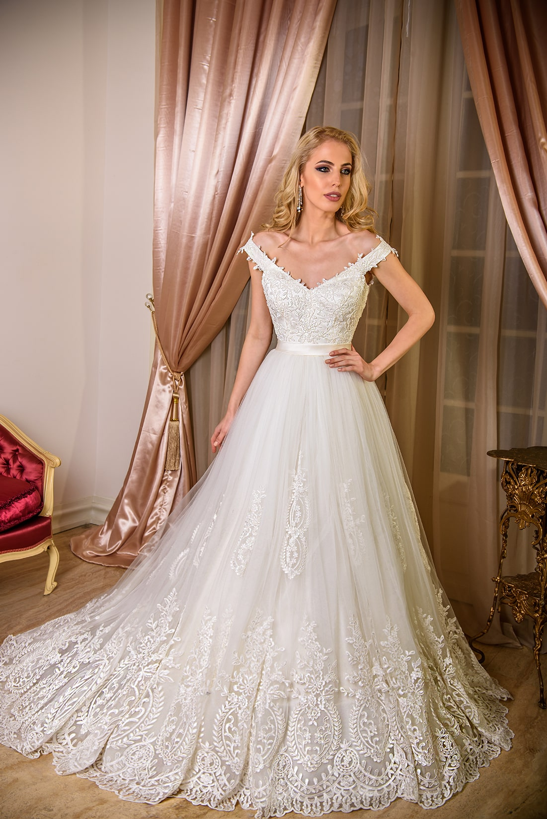 Nisha Model - Colectia Baroque - Adora Sposa