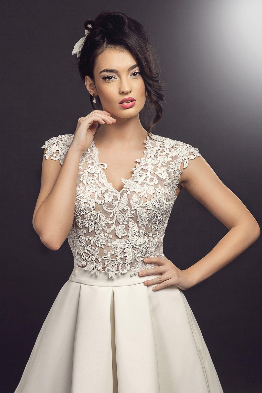 Rochie de mireasa Petunia Model - Colectia Dreams - Adora Sposa (2)