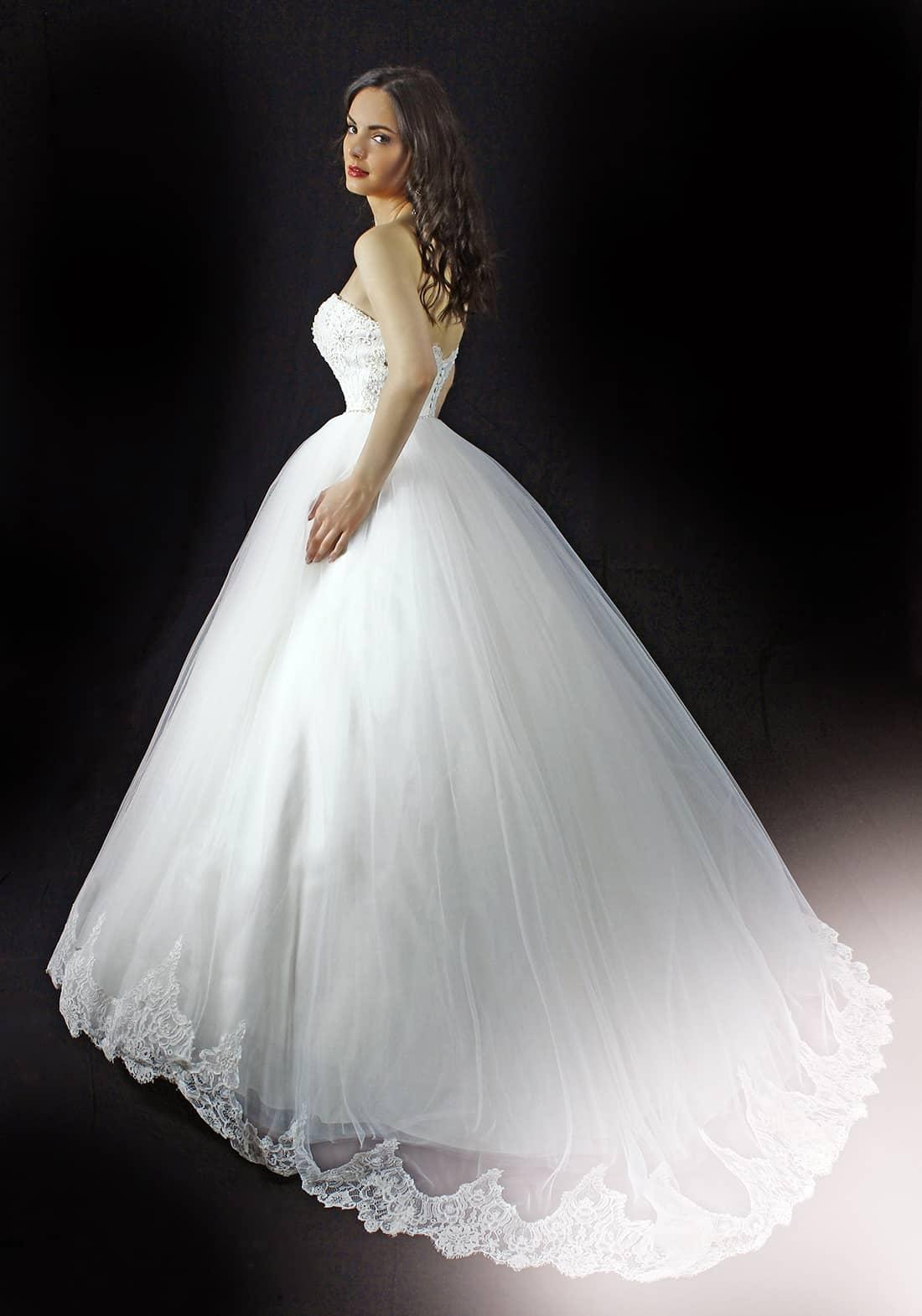 Rochie de mireasa Pilar Model - Colectia Dreams - Adora Sposa (2)