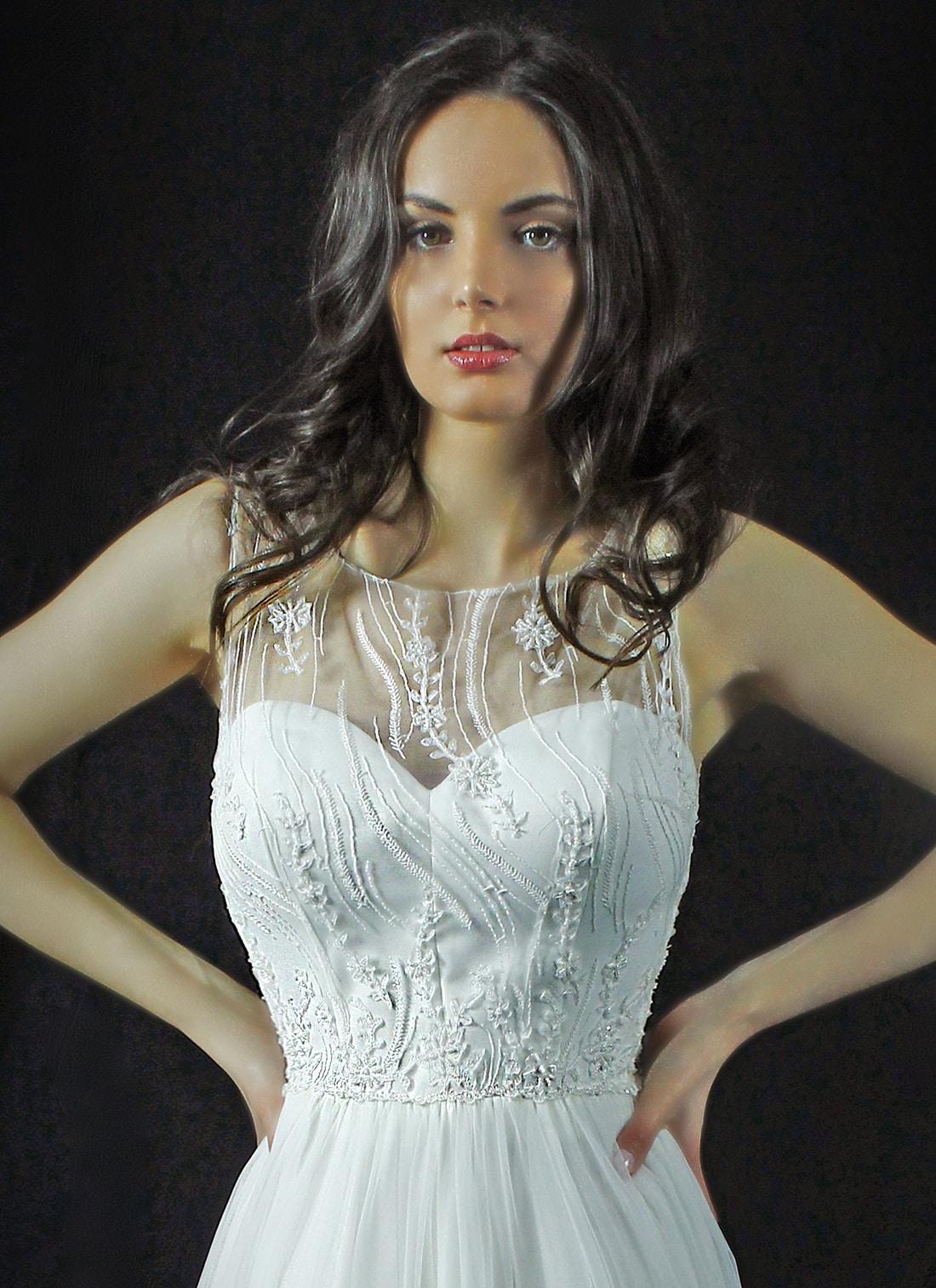 Rochie de mireasa Placida Model - Colectia Dreams - Adora Sposa (3)