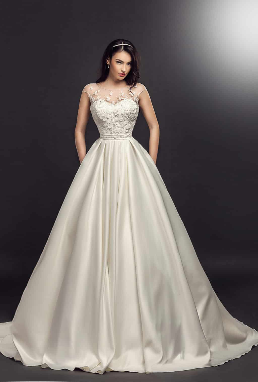 Rochie de mireasa Primavera Model - Colectia Dreams - Adora Sposa