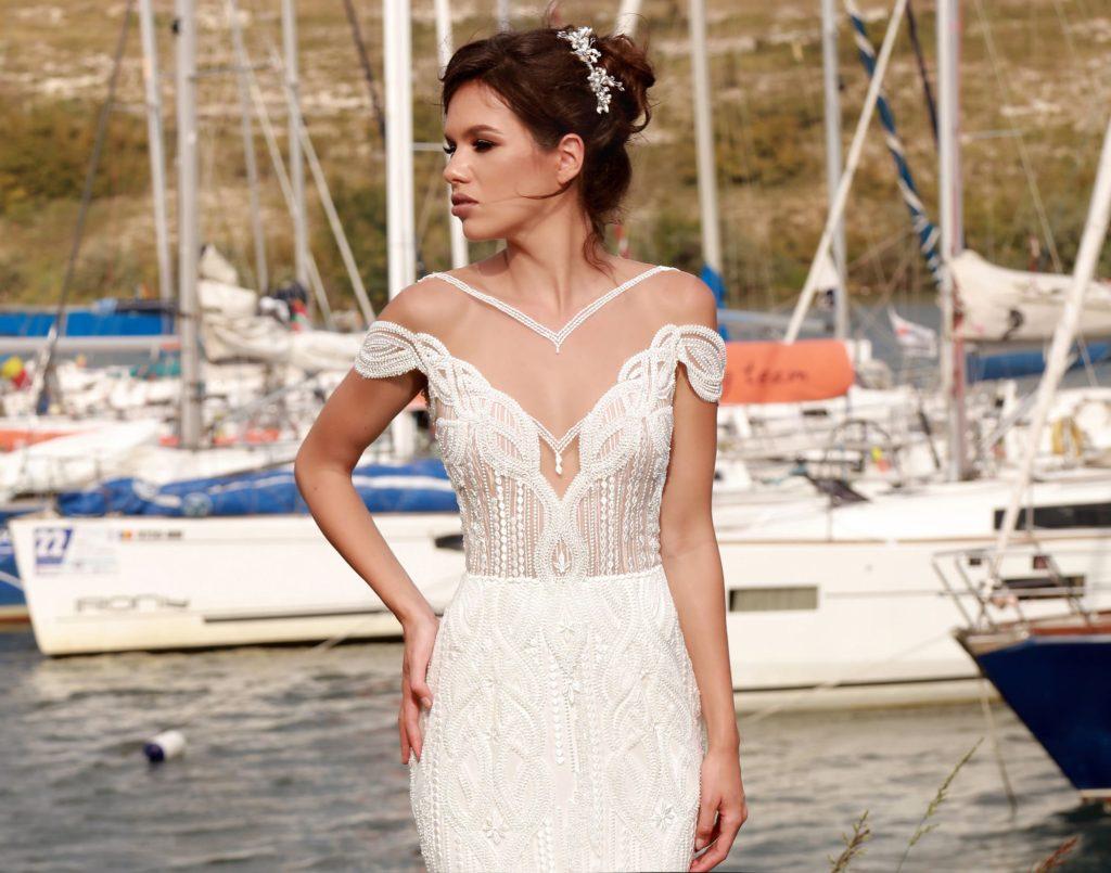 Rochii de mireasa deosebite rochii de mireasa sirena rochii mireasa 2 in 1
