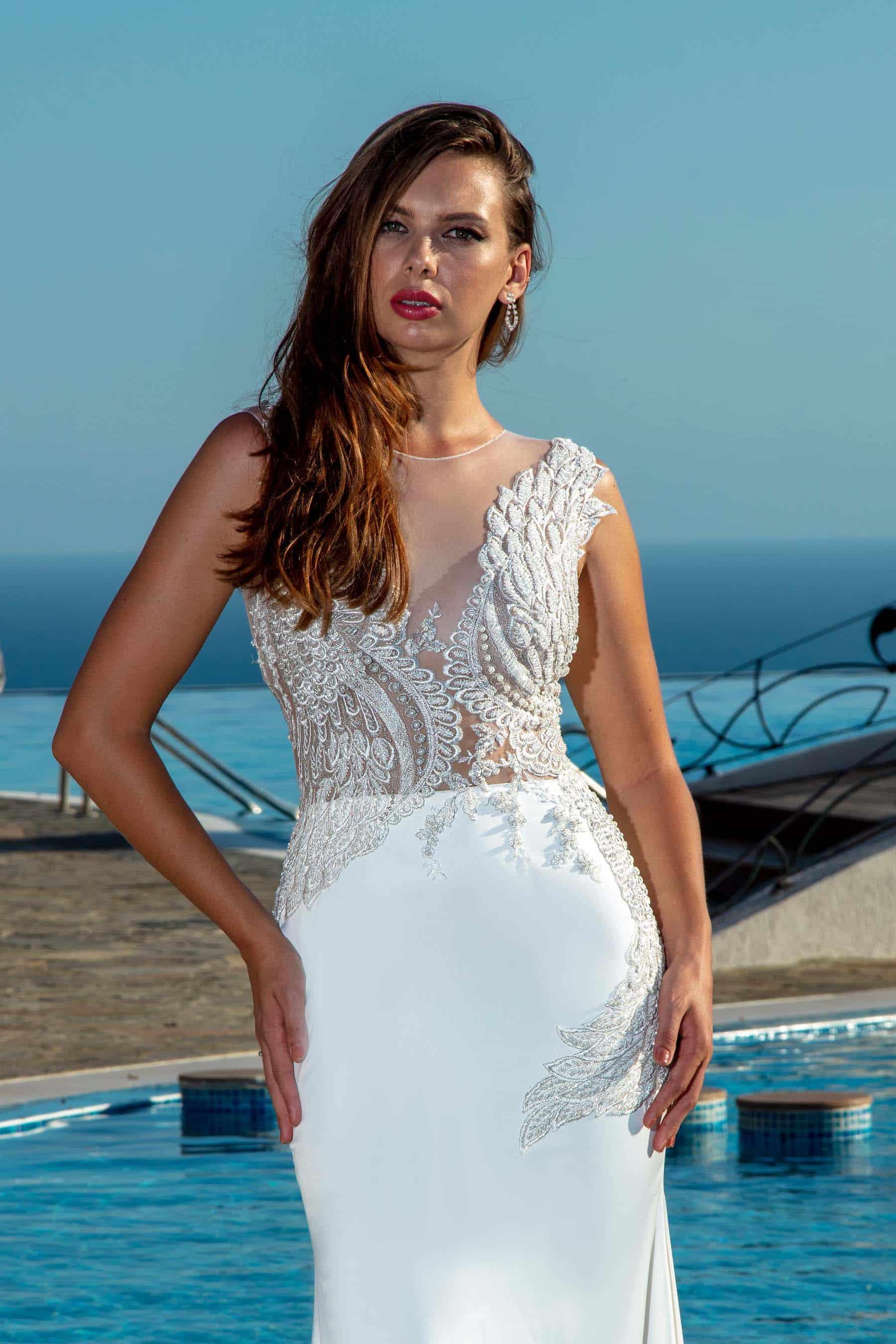 Rochie de Mireasa - Model Falcon - Adora Sposa (4)