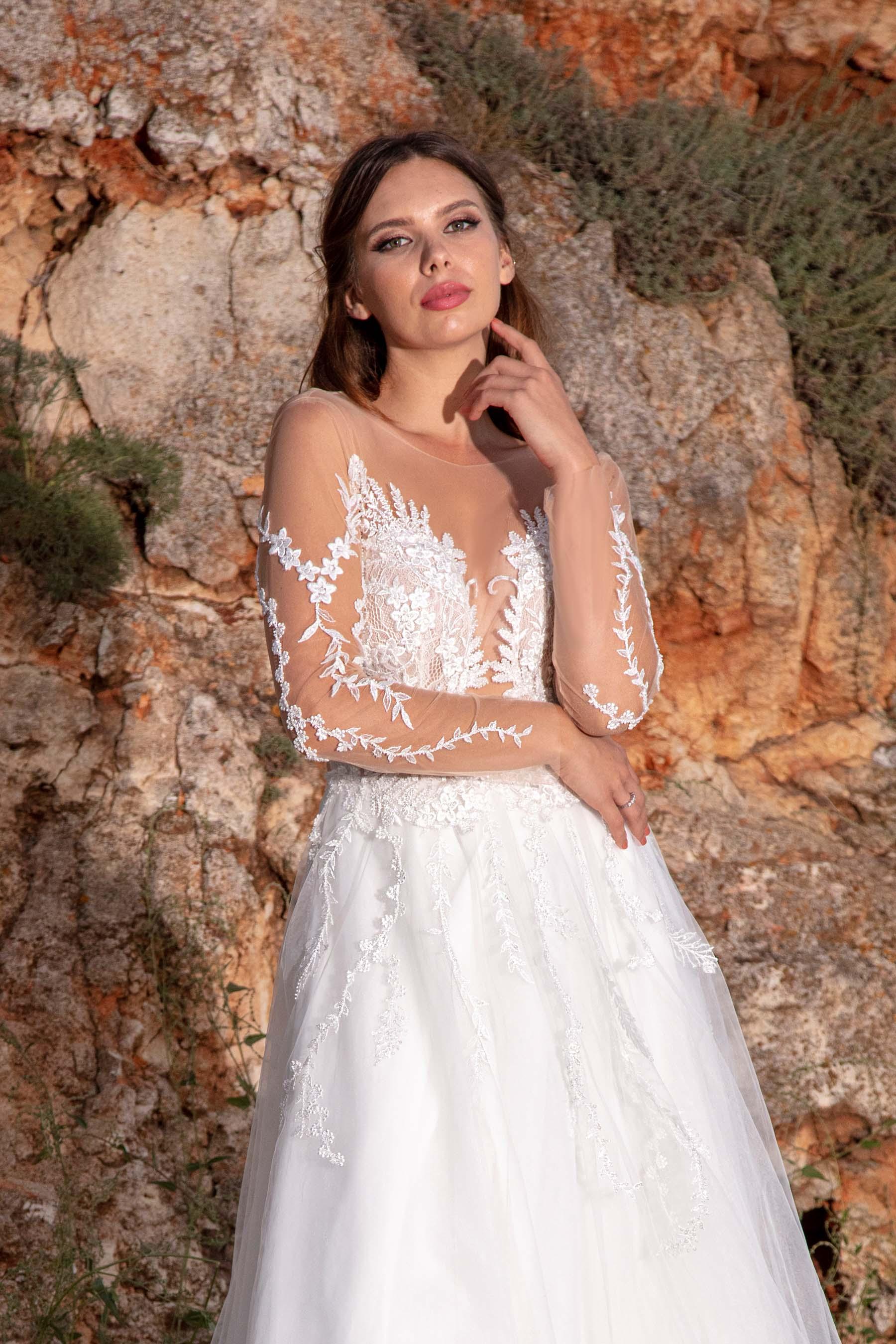 Rochie de Mireasa - Model Fayline - Adora Sposa (6)