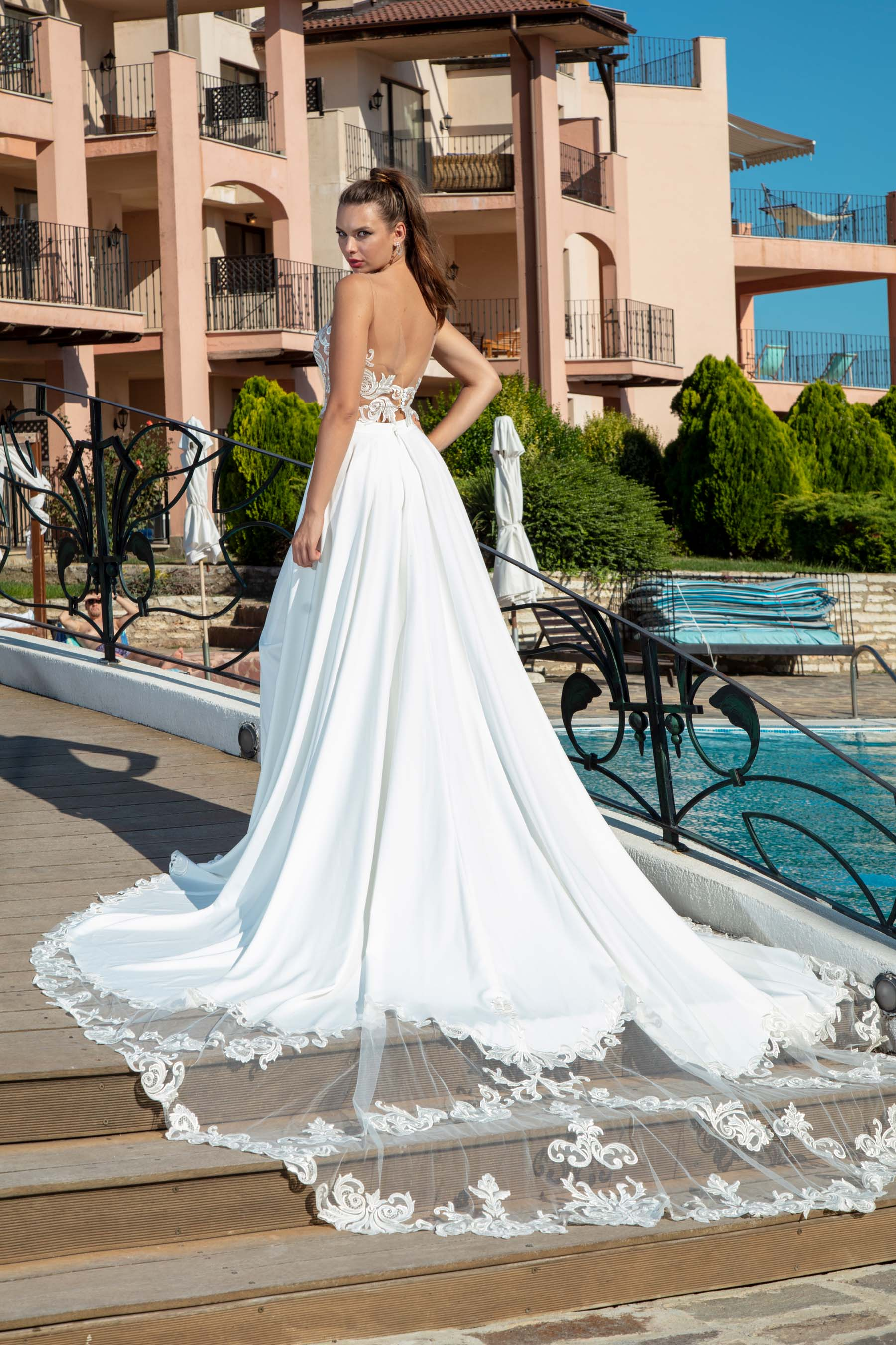 Rochie de Mireasa - Model Fiore - Adora Sposa (5)