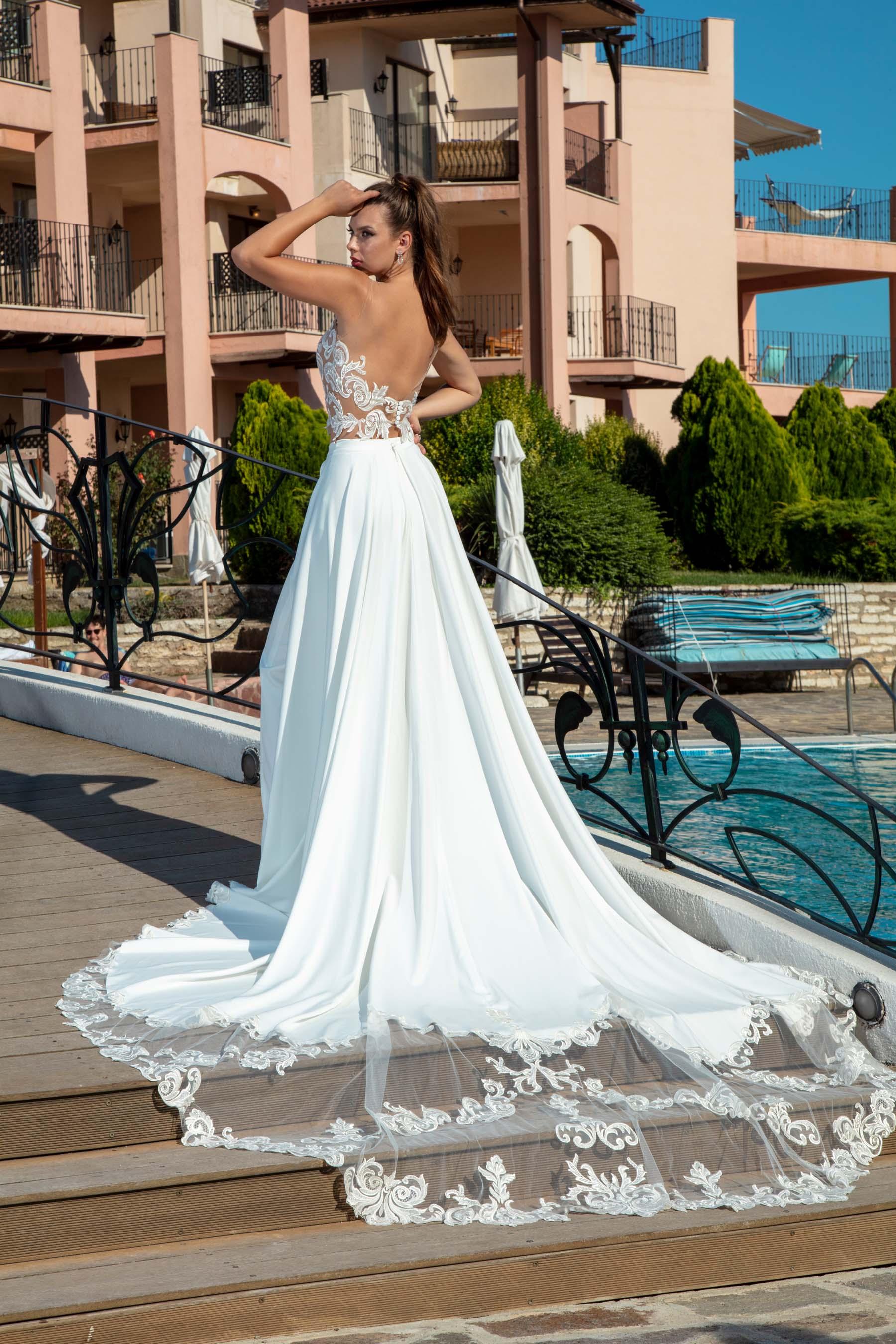 Rochie de Mireasa - Model Fiore - Adora Sposa (6)