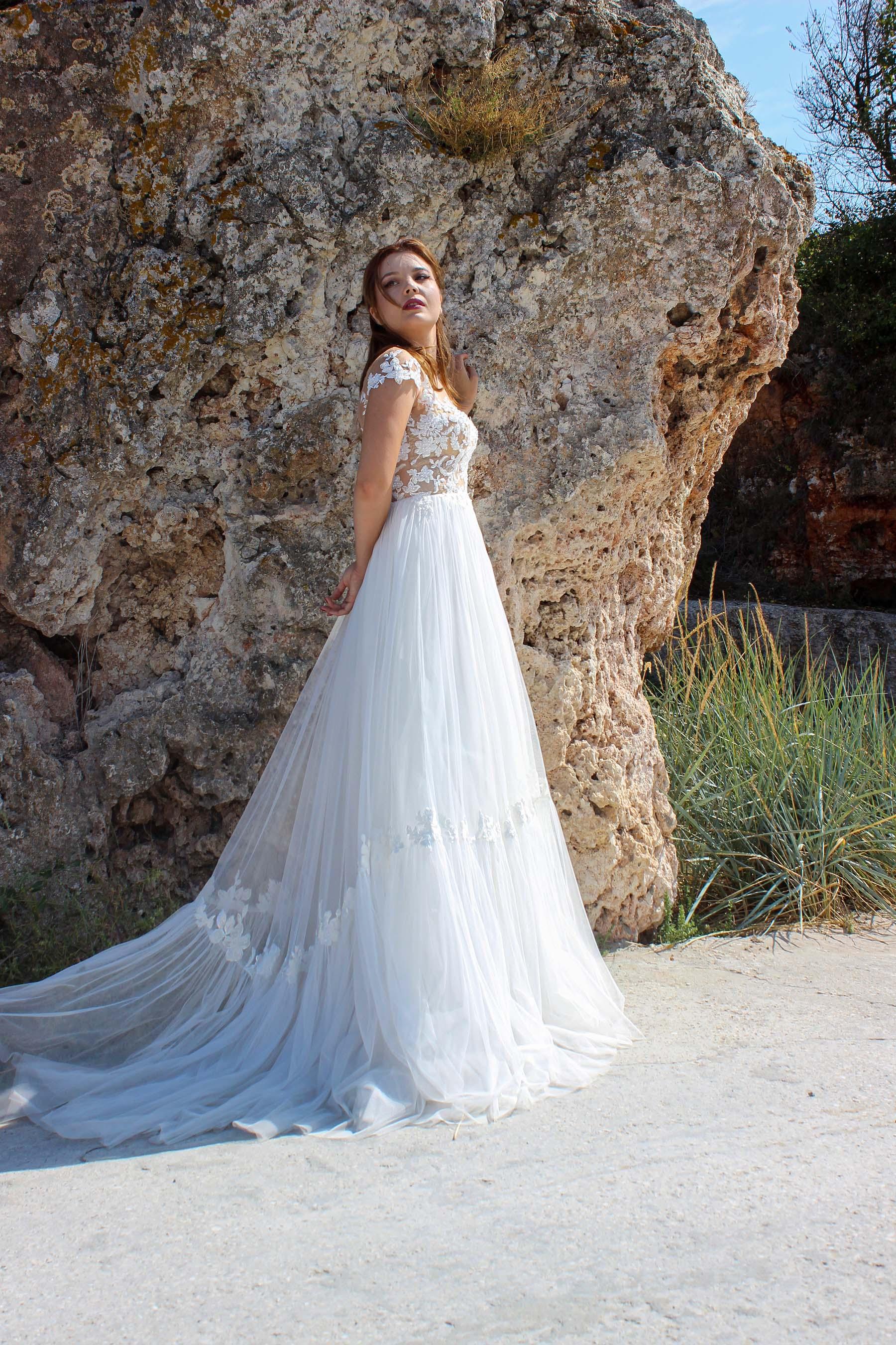 Rochie de Mireasa - Model Fleur - Adora Sposa (2)