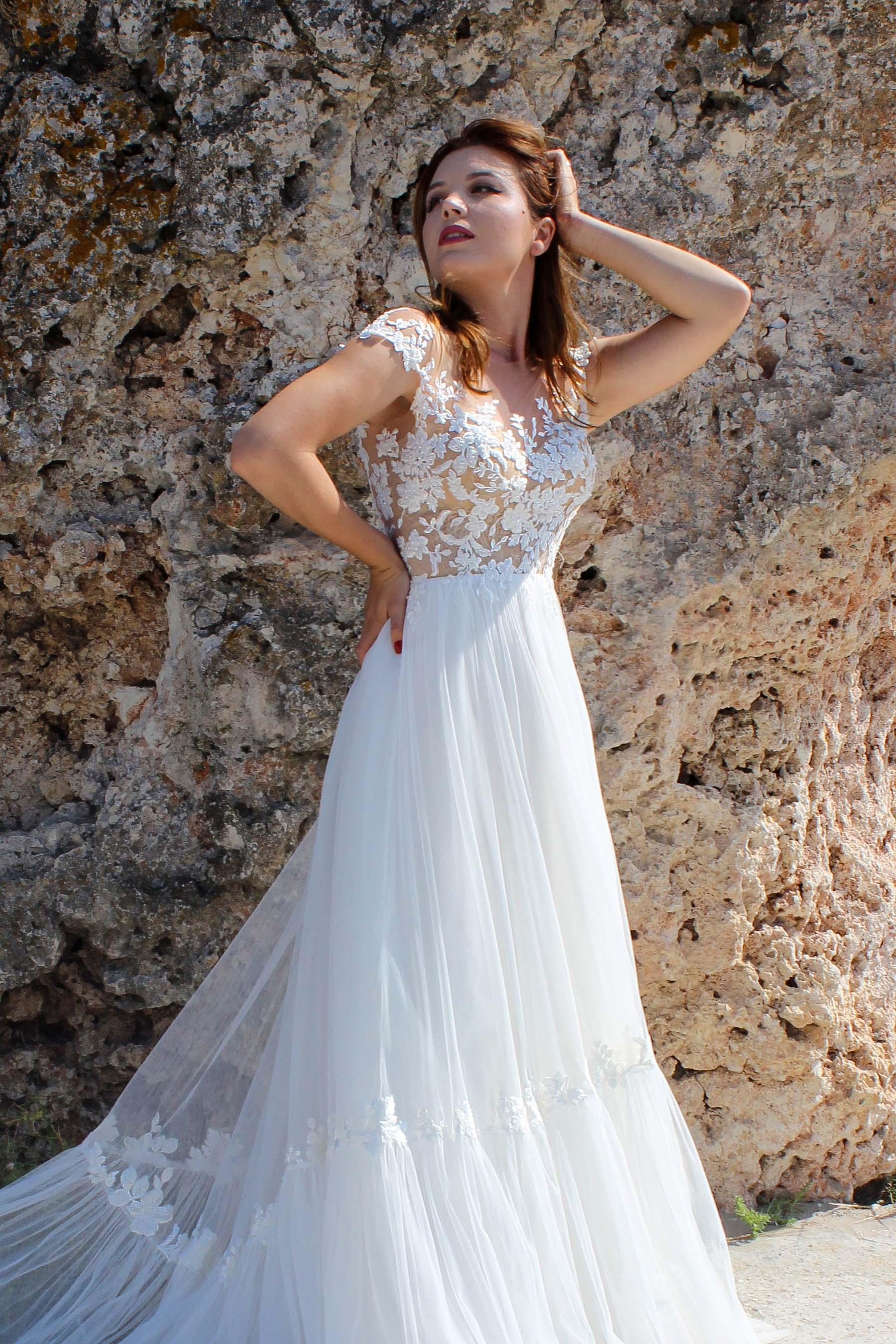 Rochie de Mireasa - Model Fleur - Adora Sposa (5)